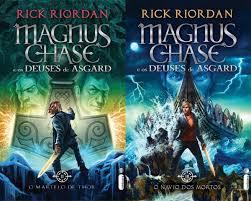 caracteristicas título do livro magnus chase