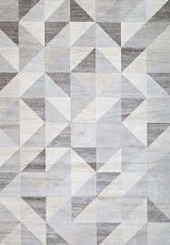 geometric patterned carpet