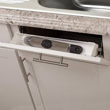 Simply Put 14 In W X 2 In Pull Out Plastic Cabinet Organizer At