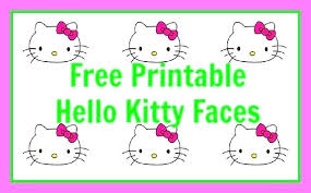 Hello Kitty Birthday Terms Of Use For The Printable Free Cat Party