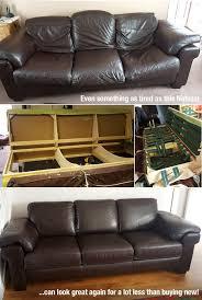 poliruoti reupholster leather sofa