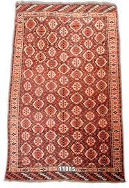 Chodor Main Carpet Chodor Main Carpet 19th C (4th Q) Turkmen