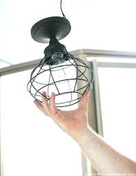 lovely chandelier installation