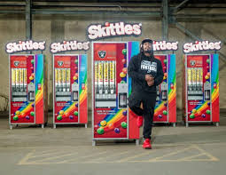 Create The Rainbow Skittles Vending Machine Impressive Here's How You Can Get Free Skittles TODAY Only HelloGiggles