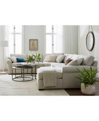 Endearing Macys Living Room Furniture and Astra Fabric Sectional
