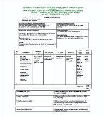 Commercial Invoice Commercial Invoice Example Rome Fontanacountryinn Com