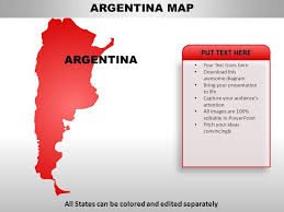 Argentina Country Powerpoint Maps Powerpoint Presentation