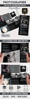 Photography Brochure Design Impressive Grapher – Free Tri Fold Psd ...