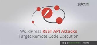 latest wordpress rest api vulnerability
