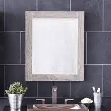reclaimed wood bathroom mirror. Americana Mirror In Driftwood Reclaimed Wood Bathroom H