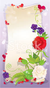 Pictures Of Hearts And Flowers Love Letter With Hearts And Flowers Rose Daisy Bluebell