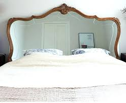 Mirror Headboard Bedroom Set Over In Bed With Ceiling Mirrors Above ...