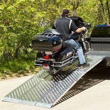 12' Aluminum Folding Motorcycle Ramp – 3 Piece – Big Boy EZ Rizer12 ...
