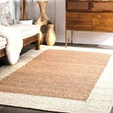 white jute rug hand woven off white cream jute wide border area rug 7 white jute white jute rug