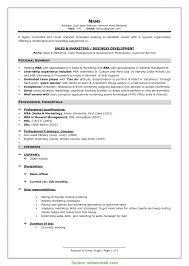 Simple Modeling Resume Template Model Resume Template