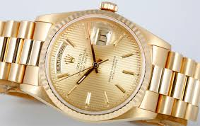 history of the rolex president rolex gold president