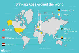 The Legal Drinking Age In European Countries
