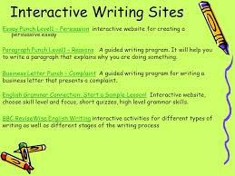 writing spelling grammar ppt video online 8 interactive writing sites