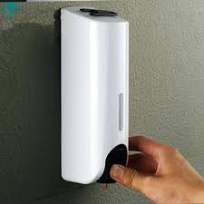 wall mounted shampoo dispenser quality silver