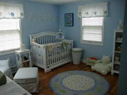 elephant round nursery rug