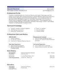 professional profile resume sample  resume for study