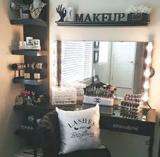 diy small makeup organizer