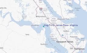 Hog Point James River Virginia Tide Station Location Guide