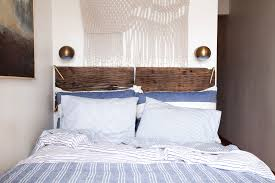 Small Rustic Bedroom A Rustic Yet Refined Small Space Bedroom Makeover Decorating