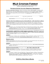 015 Collection Of Solutions Mla Format Citing Sources