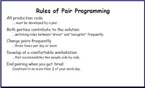 Agile In A Flash Abcs Of Pair Programming