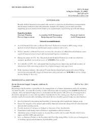 Plant Accountant Sample Resume