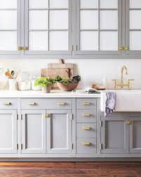 blue grey kitchen cabinets. Exellent Grey Having A Moment BlueGray Kitchen Cabinets  So Beautiful Classic And  Modern At The Same Time Love This Kitchen Design Idea For An Easy Painted Update Intended Blue Grey
