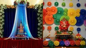ganpati decoration ideas table decoration for ganesh chaturti