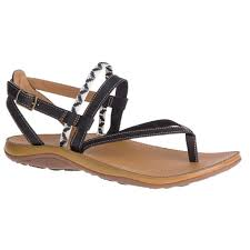 home chaco dolman black leather loveland womens adjustable back sandals j106442 skip to the end of the images gallery