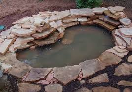 to build a water garden or pond with