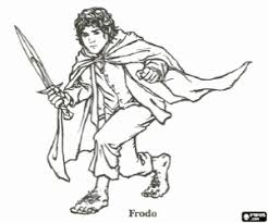 The Lord Of The Rings Coloring Pages Printable Games