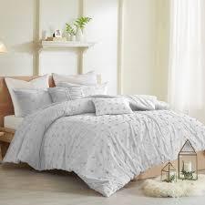 minnesota wild bedding set brooklyn cotton jacquard comforter set grey by urban habi on minnesota wild