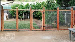 redwood fence welded wire mesh hogwire cattle fencing stuff seth
