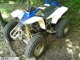 yamaha blaster for sale. looking to sale or trade. i have a 2002 yamaha blaster 200 atv runs good, motor was swapped with 125cc 2-stroke motor. pretty fast has pull start. for 0