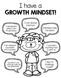 Growth Mindset Coloring Pages Pdf I Have A Growth Mindset More