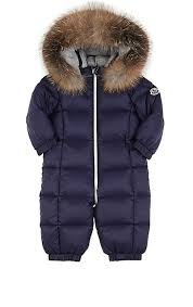 Moncler Infants  Fur-Trimmed Down-Quilted Snowsuit   Barneys New York