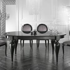italian lacquer dining room furniture. Italian Designer Oval Extendable Black Lacquered Dining Table Lacquer Room Furniture Juliettes Interiors