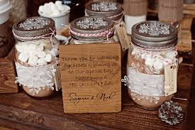 Mason Jar Decorations For A Wedding Mason Jars Wedding Favors Sweet Chocolate Powder Inside Classic 85