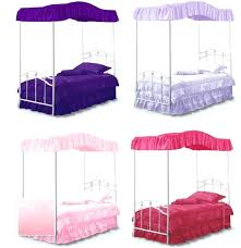 Canopy Beds Covers Canopy Beds Covers Bed Cover Top Blue White Pink ...