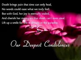 Short Condolence Quotes 5 Amazing Condolences Messages For Your Sympathy Card Pinterest Short