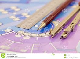 architecture plan of interior work tools royalty stock architecture plan of interior work tools
