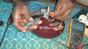 how to check ceiling fan coil capacitor and its connections tamil you