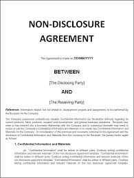 confidentiality agreement template confidentiality agreement plainresume co