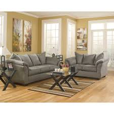 Living Room Furniture Package Cobblestone 4 Pc Living Room Group