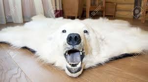 image of rug polar bear rug faux bearskin rug bear skin rug fireplace for bear